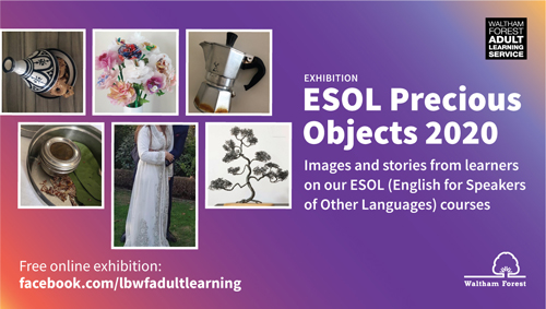 ESOL precious objects 2020 online exhibition